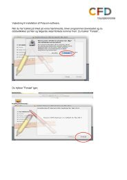 Download vejledning til installation af Mac-program