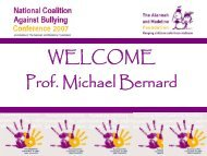 Bernard, M. E. The social and emotional wellbeing of students who ...