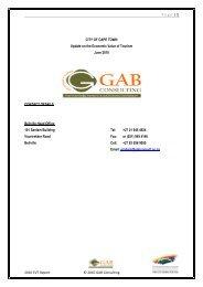 Email: Graham - Cape Town Tourism
