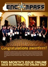 Issue 35 OCTOBER 2011 - Goodna Scout Group - Scouts Queensland