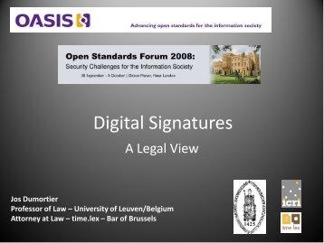 Digital Signatures - Events