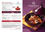 Die Tajine - Emile Henry