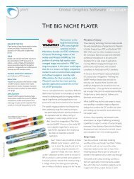 Wasatch - the big niche player - Global Graphics