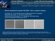 Первые результаты оцифровки архива астронегативов ГАО