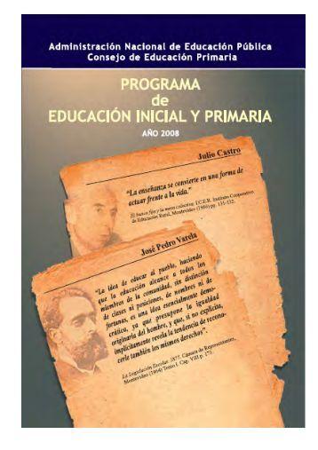 Programa de Educación Inicial y Primaria - Uruguay Educa