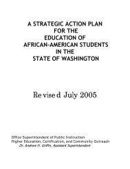 a strategic action plan to reclaim african-american students in the ...