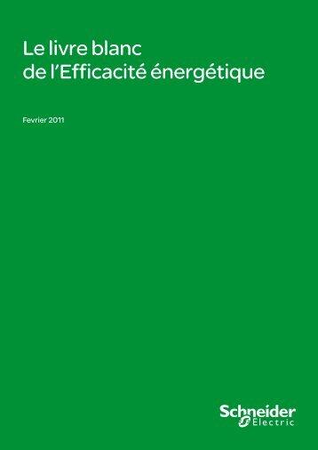 Le livre blanc de l'Efficacité énergétique