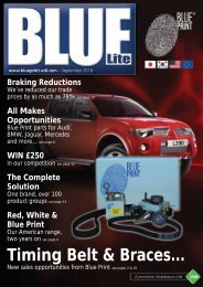 Braking Reductions - Blue Print