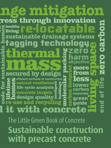 Little Green Book of Concrete - British Precast