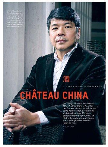 Chàteau China - Schweizerische Weinzeitung