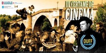 Bases - Festival de Cine Internacional de Ourense