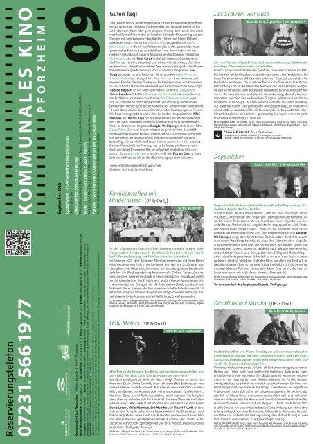 Kino Pforzheim Programm