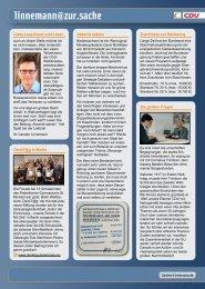 Infobrief - Ausgabe 01/13 - Carsten Linnemann