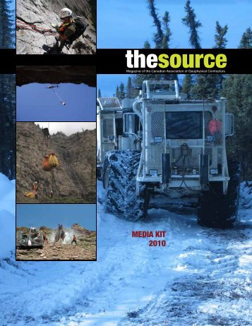 thesource - Canadian Association of Geophysical Contractors