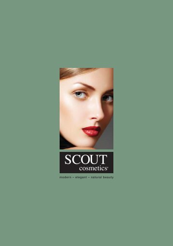 Scout Brochure-FA.indd - Scout Cosmetics