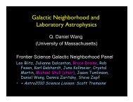 Galactic Neighborhood and Laboratory Astrophysics - Controlled ...