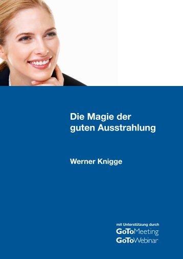Die Magie der guten Ausstrahlung (Werner Knigge) - GoToMeeting