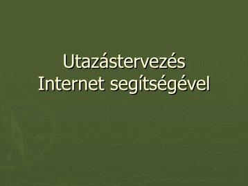 Utazás internet sesgítségével.pdf - Halmaj