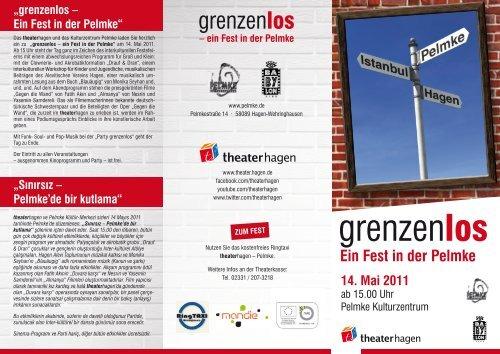 grenzenlos-Flyer - Kulturzentrum Pelmke