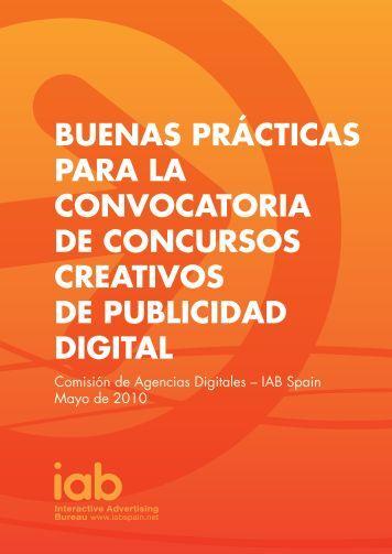 buenas prácticas para la convocatoria de concursos - IAB Spain