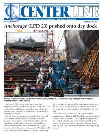 February 3 - Ingalls Shipbuilding