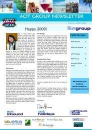 AOT GROUP NEWSLETTER - AOT Online