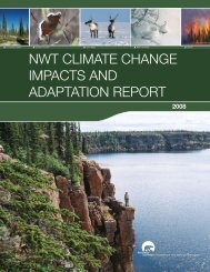 nwt climate change impacts and adaptation report - Environment ...