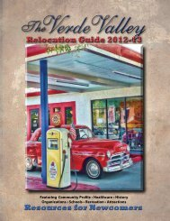 Verde Valley - Arizona Relocation Guides