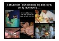 Simulation i gynækologi og obstetrik