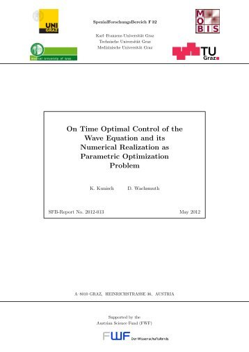 On Time Optimal Control of the Wave Equation and its Numerical ...