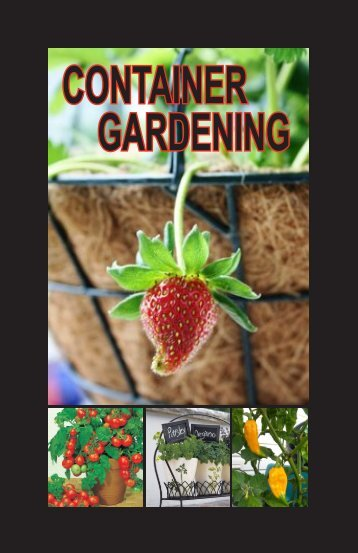 CONTAINER GARDENING - West Virginia Department of Agriculture