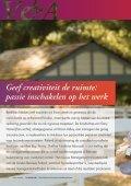 Geef creativiteit de ruimte: passie inschakelen op het werk - Page 2