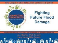 Fighting Future Flood Damage - Iowa League of Cities