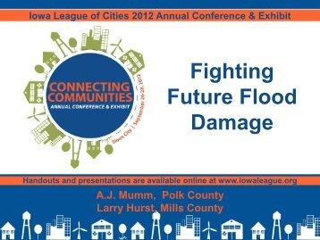 Fighting Future Flood Damage - Iowa League of Cities