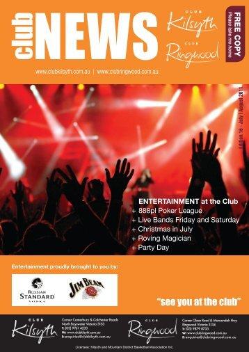 Edition 14 - Club Kilsyth