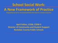 RTI and SSW - Rockdale County Public Schools