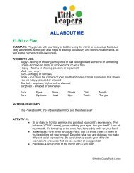 Activity Binder - Harford County Public Library