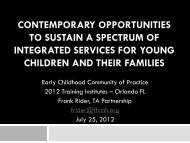 PowerPoint - National Technical Assistance Center for Children's ...