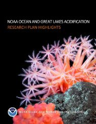 NOAA Ocean and Great Lakes Acidification ... - NODC - NOAA