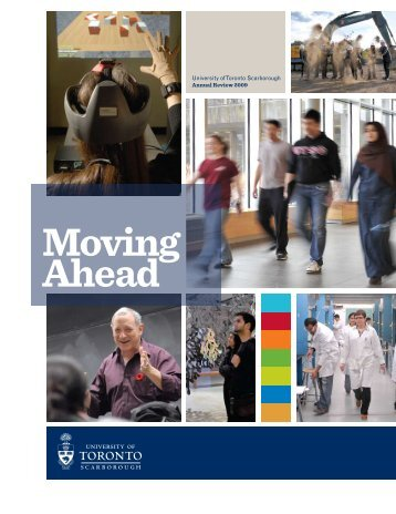 Moving Ahead - University of Toronto Scarborough