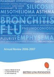 2006-2007 - British Lung Foundation