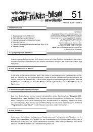 Sonntaktsblatt 51, Ausgabe Februar 2013 - Arbeitskreis Neues ...