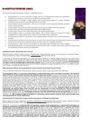 N-acetylcysteine - HyperMED