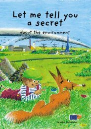 c. Let Me Tell You A Secret About the Environment - Europa