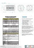Piranha TV Camera Datasheet PDF - Chess Dynamics - Page 2