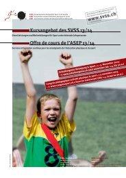 Kursprogramm 13/14 als Broschüre (pdf 1.2 mb) - SVSS