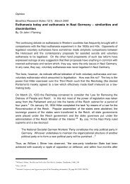 Euthanasia Today and Euthanasia in Nazi Germany