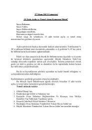 Aydın 15 Tesis Açılış ve Temel Atma - Devlet Su İşleri Genel ...