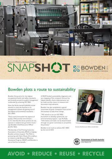 Zero Waste SA – REAP Snapshot Bowden
