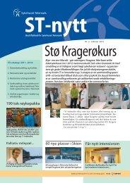 ST-Nytt Nr. 2, 2012 - Sykehuset Telemark